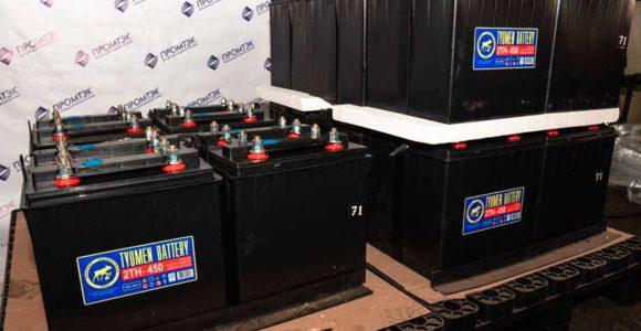 Аккумуляторная батарея 32ТН-450У2 сухозаряженная ЗИП 2
