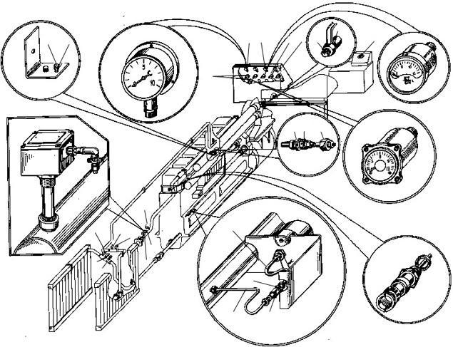 Установка КИП и датчиков реле